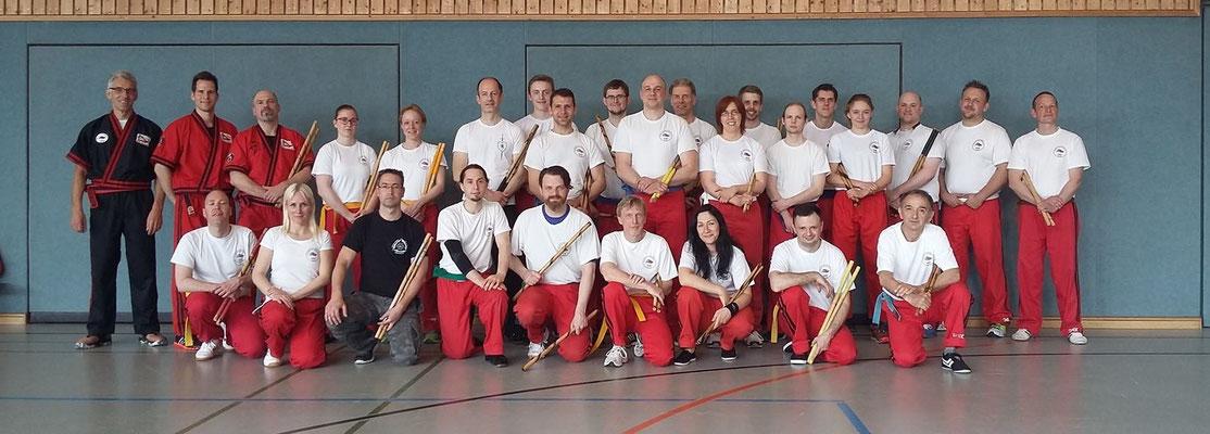 Arnis Lehrgang in Schlossholte mit Master Ingo Hutschenreuter am 7.5.17