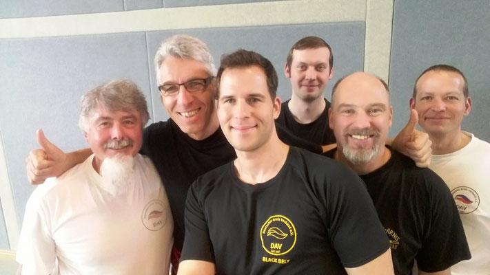 Dantraining am 8.5.17 mit Master Ingo Hutschenreuter(6.Dan) Dank an Ingo und die Ausrichter Maik und Jörg aus Schloßholte!
