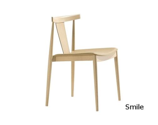 Smile silla comedor moderna sillon moderno clasico diseño  madera tapizada andreu world Barcelona lacadira.com