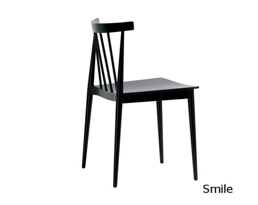 Smile silla comedor diseño sillon moderno clasico diseño  madera tapizada andreu world Barcelona lacadira.com