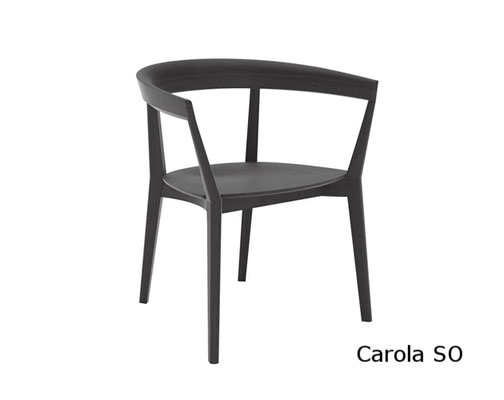 Carola SO sillon moderno clasico diseño  madera tapizada andreu world Barcelona lacadira.com
