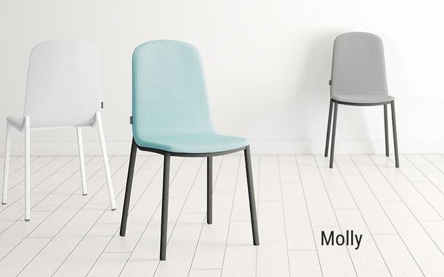 Molly cancio silla tapizada molly