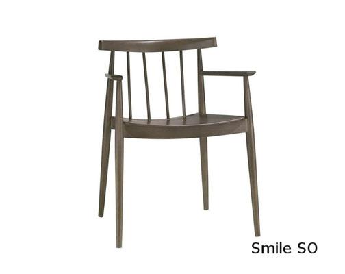 Smile SO silla comedor diseño sillon moderno clasico diseño  madera tapizada andreu world Barcelona lacadira.com