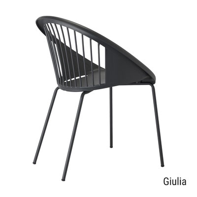 Giulia scab design sillón de exterior