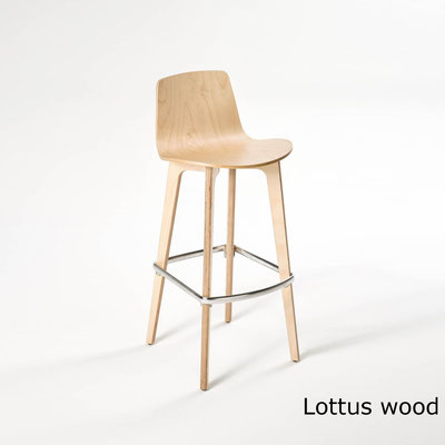 Lottus wood taburete