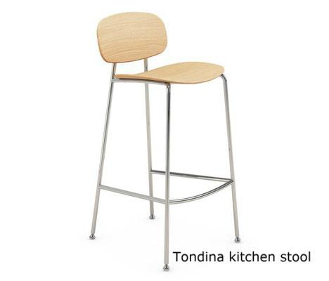 Tondina kitchen bar stool infinitidesign