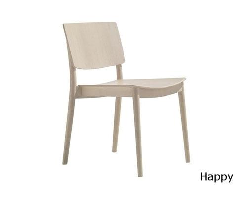 Smart SI silla comedor madera  moderna clasico diseño  madera tapizada andreu world Barcelona lacadira.com
