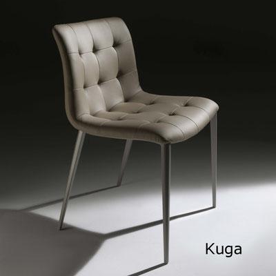 kuga  silla comedor diseño sillon moderno   madera tapizada midj Barcelona lacadira.com