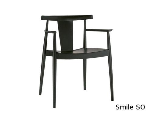 Smile SO comedor sillon moderno clasico diseño  madera tapizada andreu world Barcelona lacadira.com