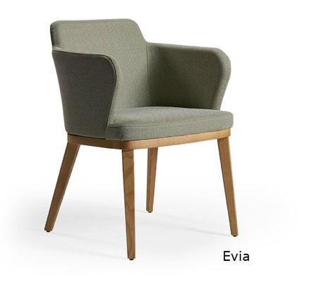 Evia doos sillón moderno tapizado