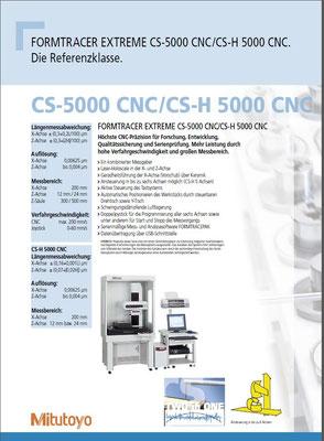 Produktbroschüre, Mitutoyo Europe GmbH
