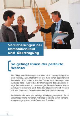 AXA Versicherungen AG, Info-Handbuch für Bauherren