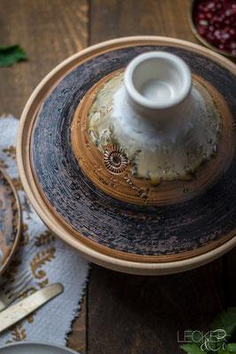 Keramik, Tajine Basalt dieses Foto ist von Tina, www.leckerundco.de