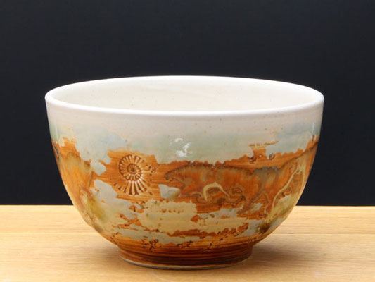 Keramik Schale Neuseeland  ø ca.13,5 cm h ca. 7,5 cm