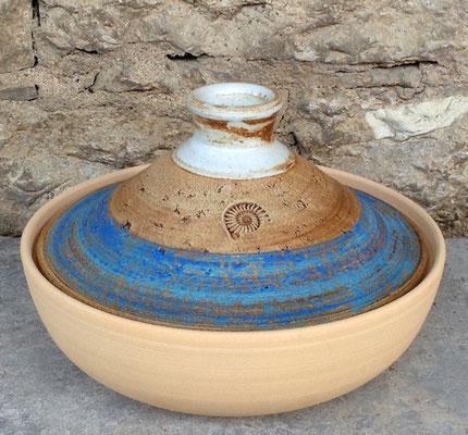 Keramik, Tajine Dekor Santorin