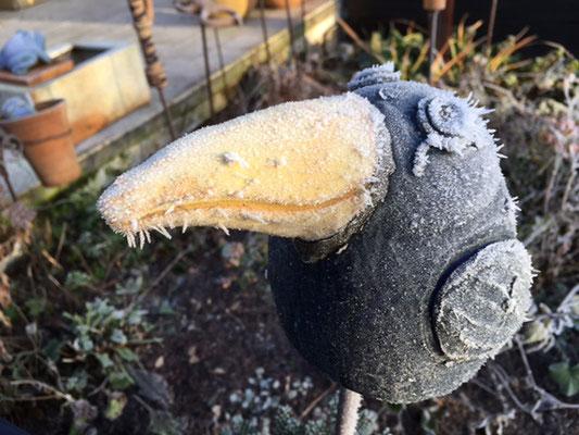 Keramik handmodelliert, Vogel