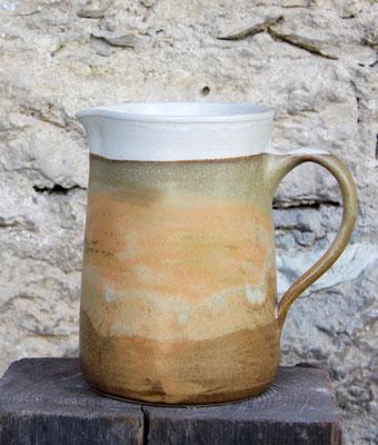 Keramik, Krug Dekor Herbstwald
