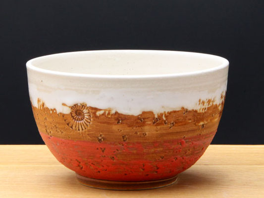 Keramik Schale Granatapfel ø ca.13,5 cm h ca. 7,5 cm
