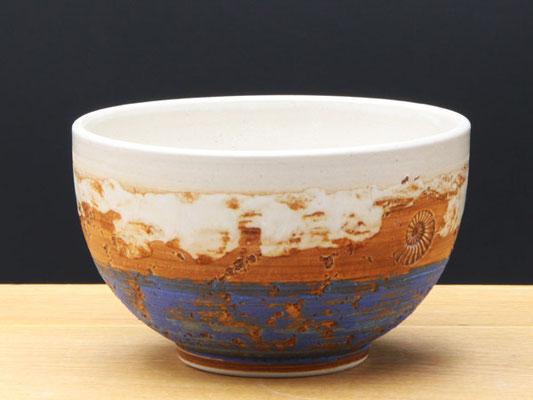Keramik Schale Santorin ø ca.13,5 cm h ca. 7,5 cm