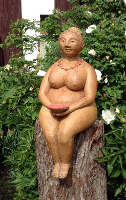 Keramik handgemacht, Pacha Mama