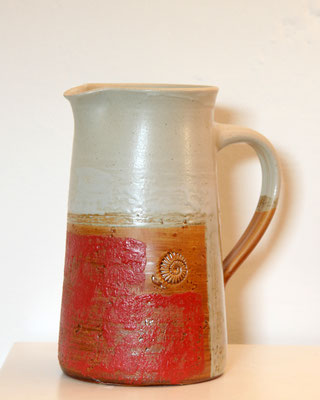 Keramik, Krug Dekor Granatapfel