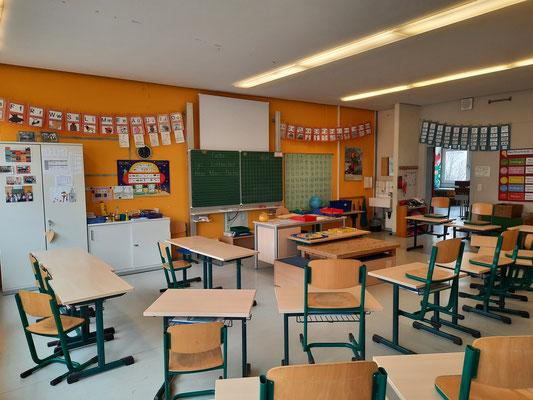 Ein Beispiel für ein Klassenzimmer.