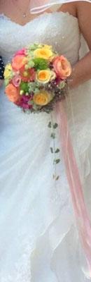 Zarte Farbtöne für die verträumte Braut