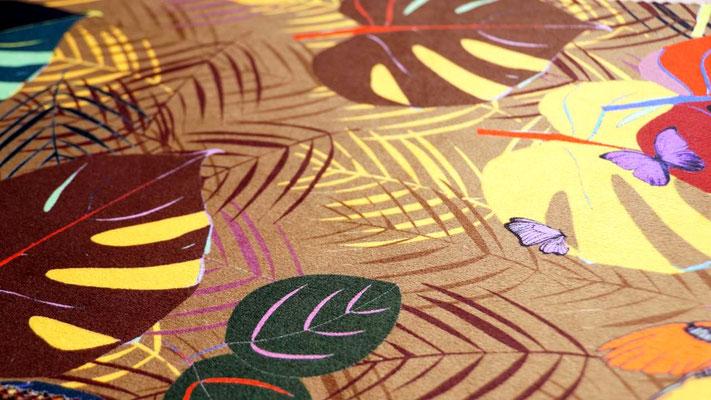 marylinegrac-tapissier d'ameublement. Tissu d'ameublement Zéphyr & Co pour chaises et fauteuils