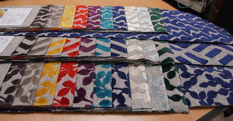 """marylinegrac - tapissier d'ameublement. Tissu d'ameublement Casal collection """""""" pour chaises et fauteuils"""