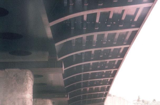 SIENA - Ponte stradale presso stazione FFSS