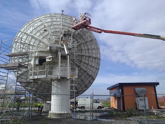 LAGO DEL FUCINO - Parabole Telespazio