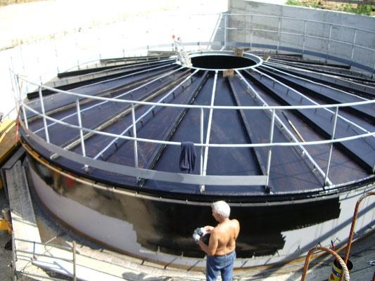 CREMONA - Serbatoio impianto teleriscaldamento