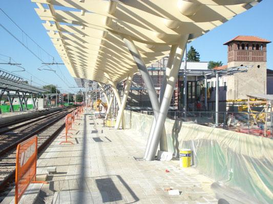 VANZEGHELLO - Strutture stazione ferroviaria FERROVIE NORD