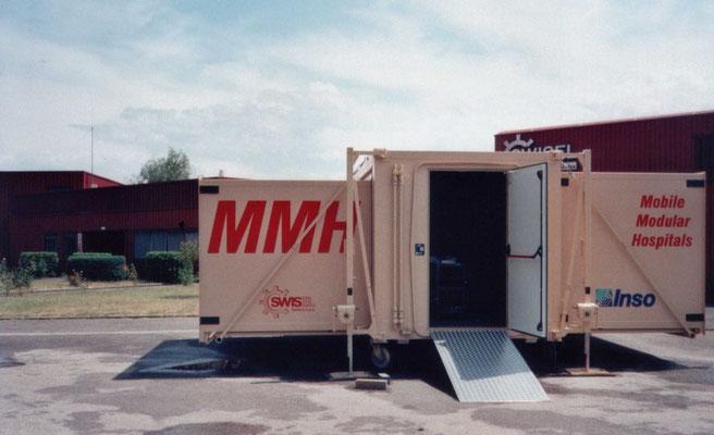 INSO - Shelter mobili primo soccorso