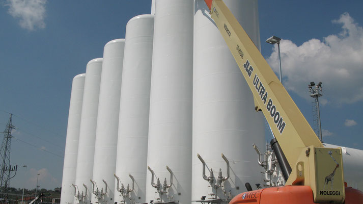 SAPIO - Impianto frazionamento ed imbottigliamento gas tecnici (Orte)
