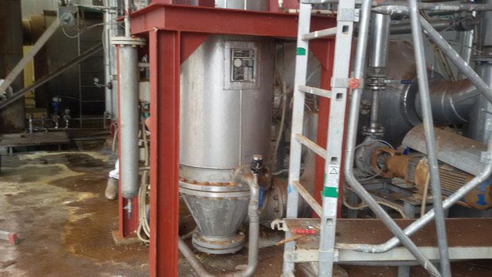 PONTEDERA - Impianto produzione solfato d'ammonio