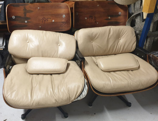 Réféction de 2 fauteuil Lounge