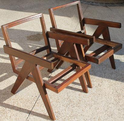 ébénisterie de fauteuil