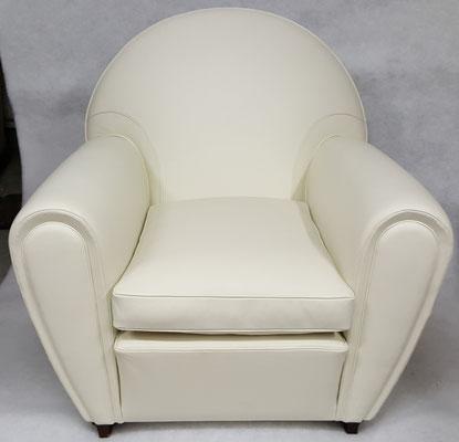 fauteuil club restaurer par nouveaux sièges