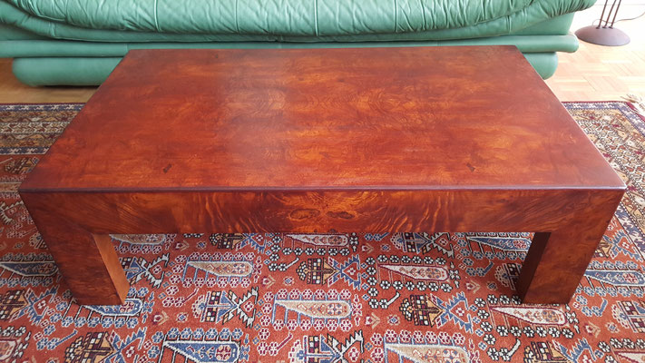 restauration table basse