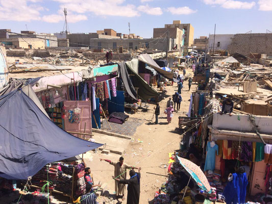 Market in Nouakchott, Mauritania's capital (photo: Mahmoud Tawfik)