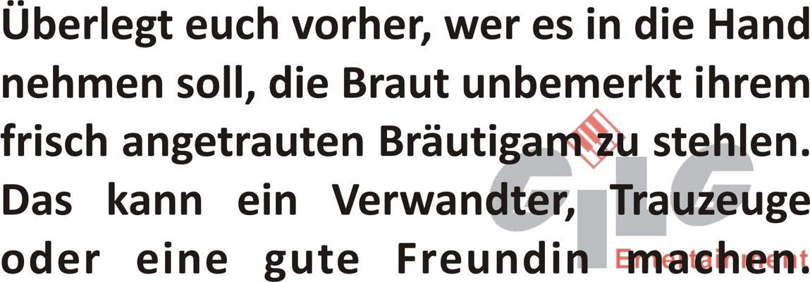 Wer, wie, wo, wann, im Vorgespräch mit Hermann Gilg durchsprechen!