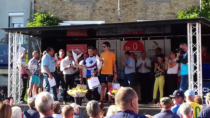 Le podium des vélos couchés (Vélomobile) Geoffroy et Pierre