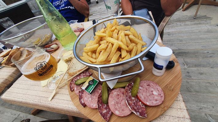 """Le repas diététique """"avant la course"""""""