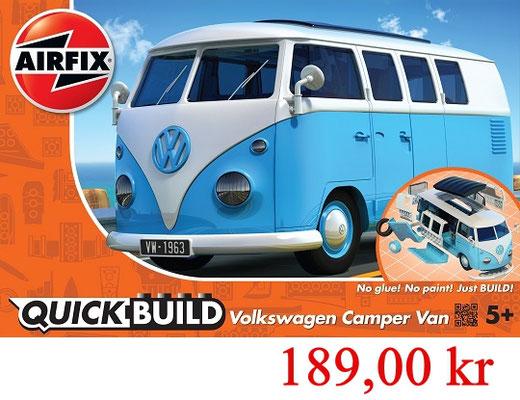 Airfix Quick Build VW Camper blue