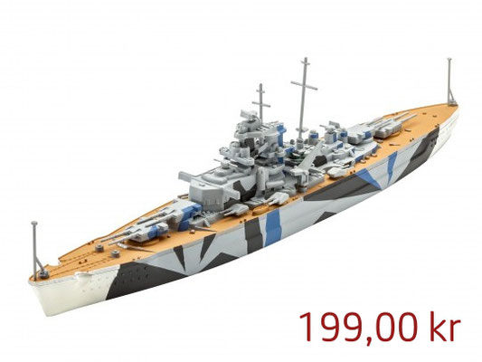 Revell Model Set Tirpitz ,Art.65822