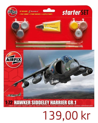 Airfix Hawker Harrier GR.1