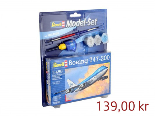 Revell Model Set Boing 747-200 KLM ,Art.63999