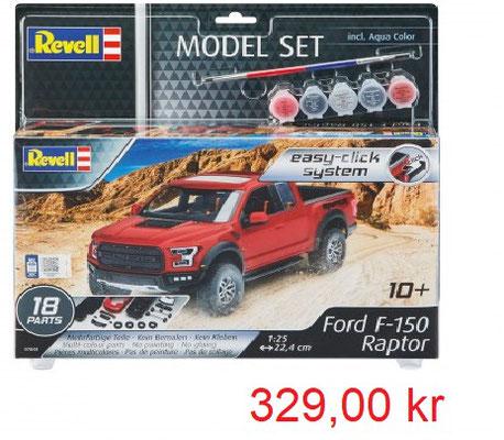Revell Model Set Ford F-150 Raptor Easy Click