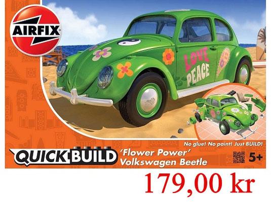Airfix Quick Build VW Beetle Flowerpower